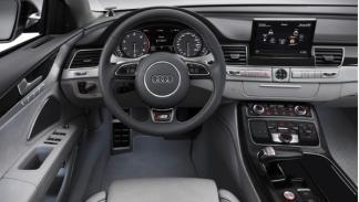 Interior del Audi S8