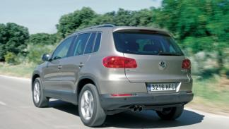 Volkswagen Tiguan Bluemotion trasera