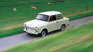 El Trabant era considerado el coche del pueblo de la RDA