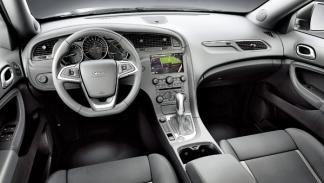 Saab 9-4X interior