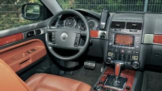 Segunda-mano-Volkswagen-Touareg-v10-tdi-salpicadero