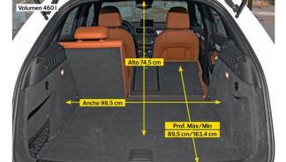 Audi Q3 maletero