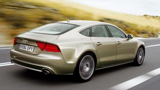 Audi A7 sportback trasera