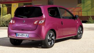 Trasera del nuevo Renault Twingo 2012