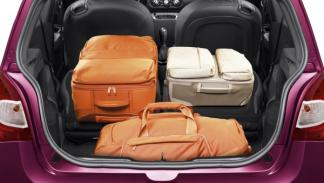 Maletero del nuevo Renault Twingo 2012