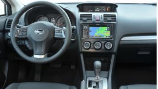 Subaru XV salpicadero