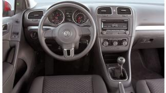 Interior del Volkswagen Golf Rabbit