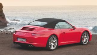 911 Carrera Cabrio trasera 3/4