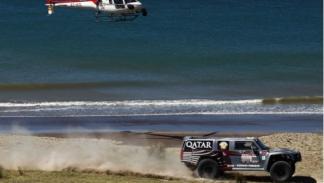 Dakar 2012 Al-Attiyah 300 Hummer segunda etapa