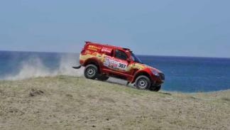 Dakar 2012 Carlos Sousa 307 Great Wall segunda etapa