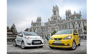 Frontal de Seat Mii y Citroën C1