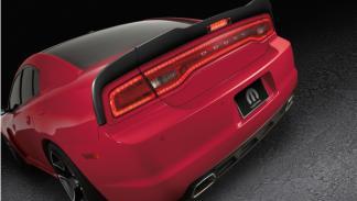 Trasera Dodge Charger Redline