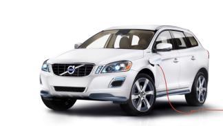 Delantera del Volvo XC60 Plug-in Hybrid Concept