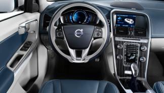 Interior del Volvo XC60 Plug-in Hybrid Concept
