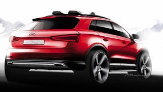 Audi Q3 Vail trasera - Salón de Detroit 2012