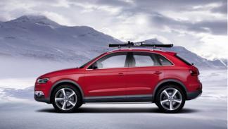 Audi Q3 Vail lateral - Salón de Detroit 2012