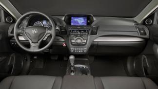 Nuevo Acura RDX salpicadero Salón Detroit 2012