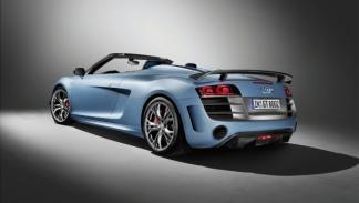 Audi R8 GT Spyder trasera oblicua