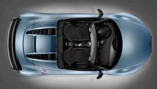 Audi R8 GT Spyder aérea
