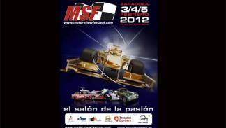 Motor Show Festival 2012 Zaragoza cartel