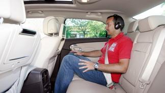 Saab 9-5 Aut interior