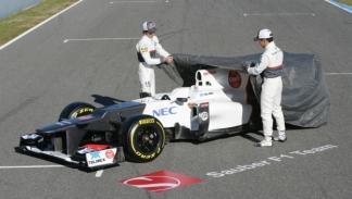 Presentación Sauber C31