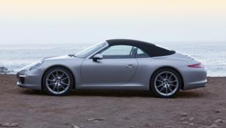 Lateral del Porsche 911 Cabriolet