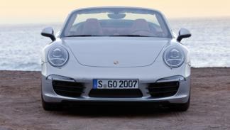 Frontal del Porsche 911 Cabriolet