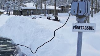 Suecia calentadores coches