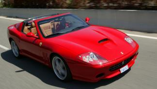 Los coches de la Universidad George Washington: Ferrari 575 Superamerica
