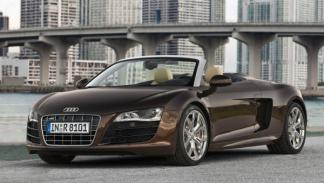 Los coches de la Universidad George Washington: Audi R8 V10 Spyder