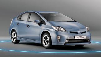 Toyota Prius Híbrido Eléctrico Enchufable consumo emisiones