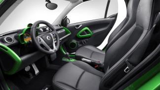 Interior del Smart Brabus electric drive