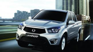 Ssangyong Actyon Sports frontal