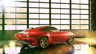 Alfa Romeo Disco Volante trasera estática salón de Ginebra 2012