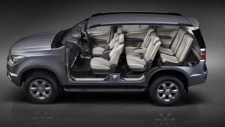 nuevo Chevrolet Trailblazer plazas traseras