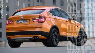 Nuevo BMW X4 trasera