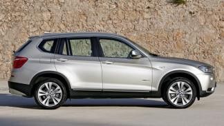 BMW X3 lateral