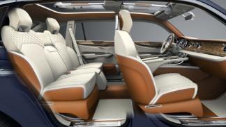 Asientos del Bentley EXP 9 F Concept