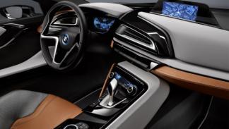 BMW i8 Concept Spyder interior