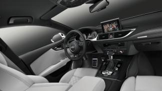 Interior lateral del Audi S7 Sportback