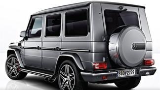 Nuevo Mercedes G 63 AMG trasera