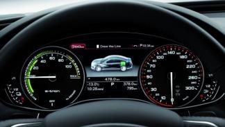 Audi A6 L e-tron concept relojes