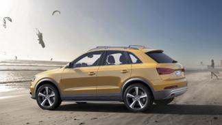 Audi Q3 jinlong yufeng pekin trasera