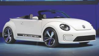 Delantera del Volkswagen E-Bugster
