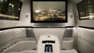Mercedes Viano Vision Diamond Concept interior
