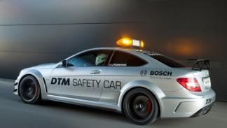 Mercedes C63 AMG Coupé Black Series DTM Safety Car perfil