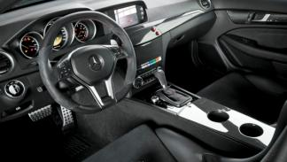 Mercedes C63 AMG Coupé Black Series DTM Safety Car interior