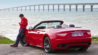Maserati GranCabrio Sport estática trasera La Rochelle