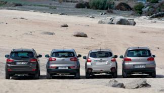 Hyundai-ix35-Kia-Sportage-Subaru-XV-VW-Tiguan-trasera